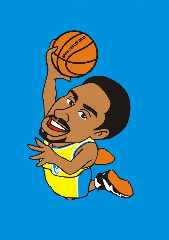 简笔画 篮球