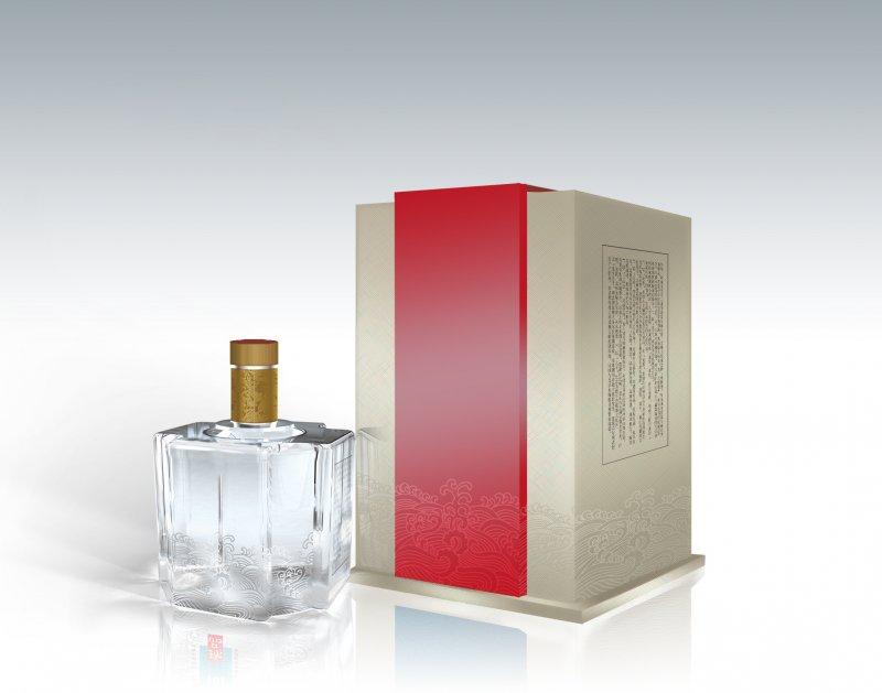 白酒包装 PSD分层模板 包装设计素材 包装平面设计源文件下载