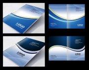 科技封面设计 PSD分层资源下载