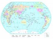 世界地图矢量中文版 cdr 无限放大 高清