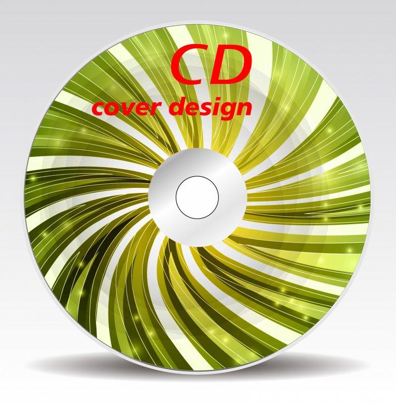 【ai】高清抽象高档光盘cd封面设计