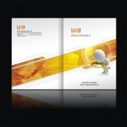 CDR科技画册封面设计
