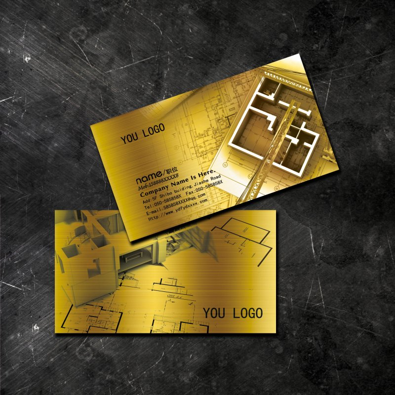 【psd】室内设计名片下载图片
