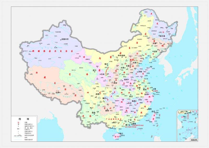 【jpg】高清中国地图图片