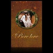 婚纱模板 古典花纹背景