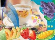 水果下午茶-健康飲食廣告海報