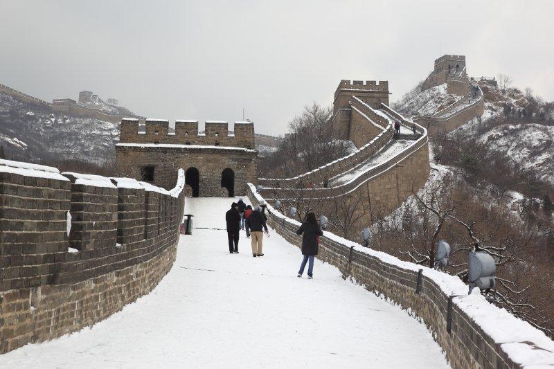 北京 长城背景 雪地 城楼 冬季长城 冬天 雪地长城 雪花 下雪 长城