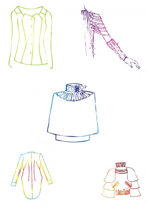 【cdr】特殊风格-服装设计