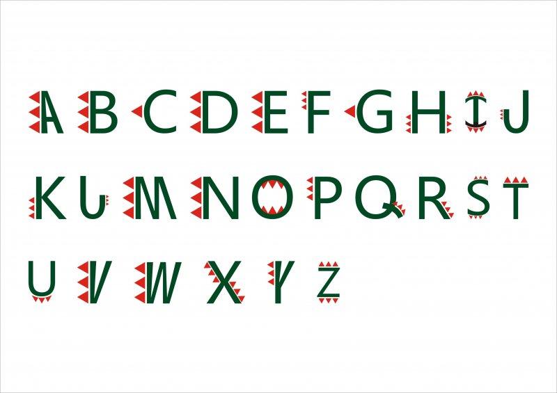【cdr】英文字体兽牙艺术字_图片编号:_智图网_www.