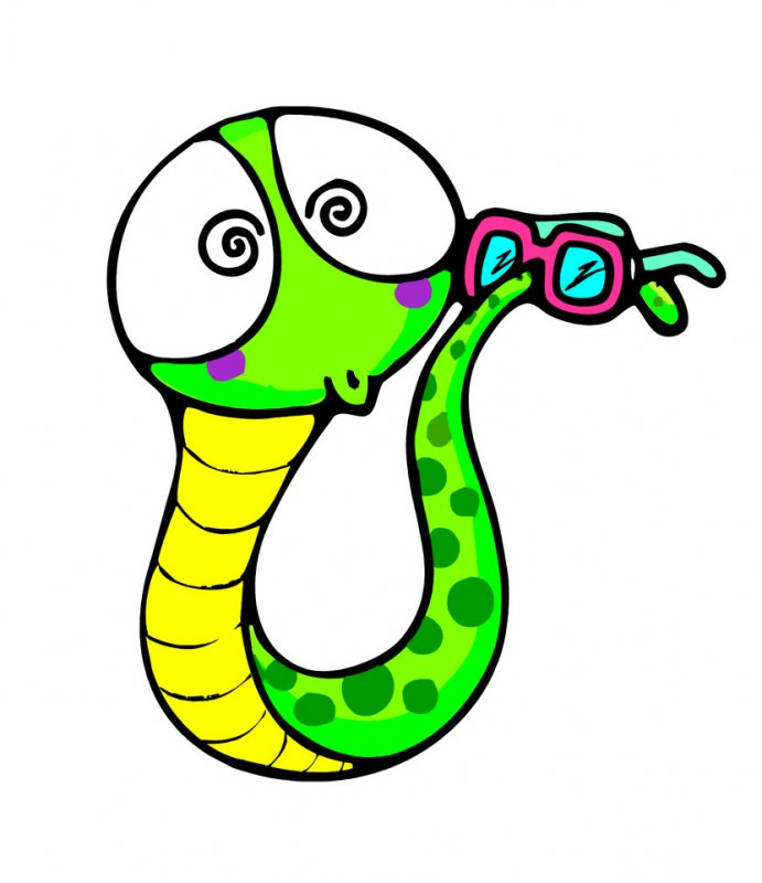 蛇头像大全可爱