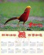 动物日历图