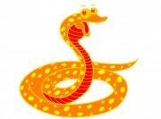 桔黄色斑纹蛇