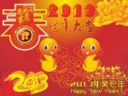 蛇年大吉 新春快乐展板 平面设计  2013蛇年大吉