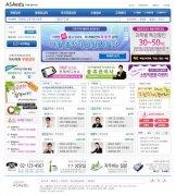 漂亮的韩国企业网站模版分层
