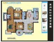 平面设计方案图(附CAD图档和效果图)
