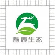 酷鹿生态logo设计 原创标志出售 野生动物元素logo