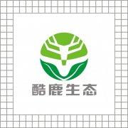 酷鹿生态logo设计 动物标志出售 生态环保科技标志