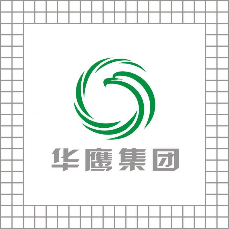 华鹰/【cdr】华鹰集团logo设计环形鹰形象标志原创应形象标志下载