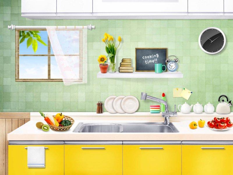 厨房 家具 书架 装修 800_600