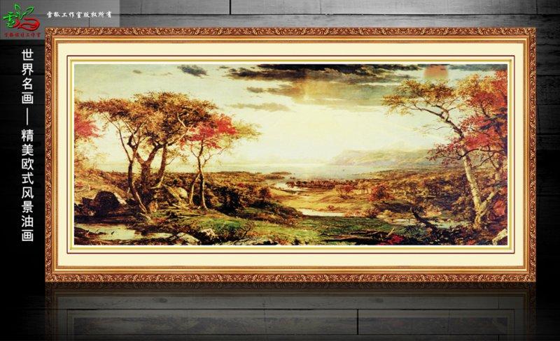 客厅挂画 壁画 墙画 装饰画 艺术画 山水画 文化艺术 办公室挂画 抽象