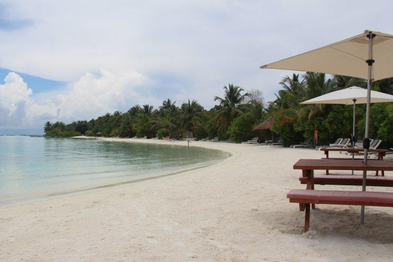 说明:-马尔代夫海边