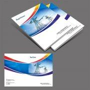 电力行业画册封面设计