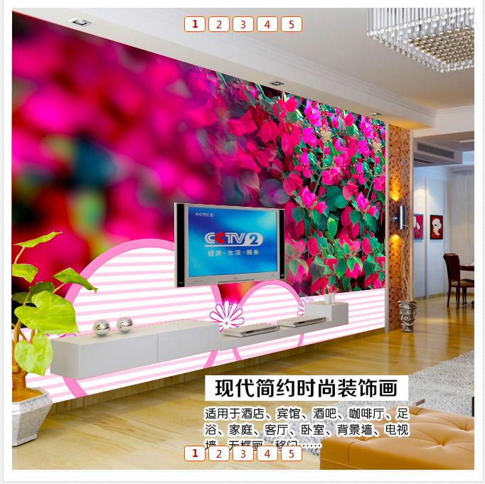高雅美式客廳背景墻設計圖