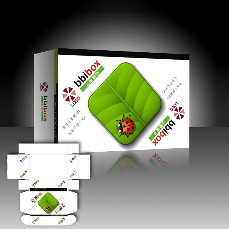 幼儿园盒子包装设计 下一张图片:儿童玩具包装盒