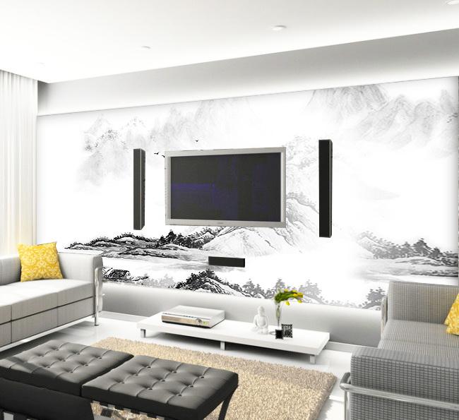 【psd】客厅电视背景墙