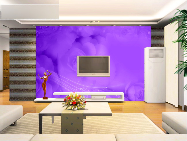 电视背景墙装饰画模板下载