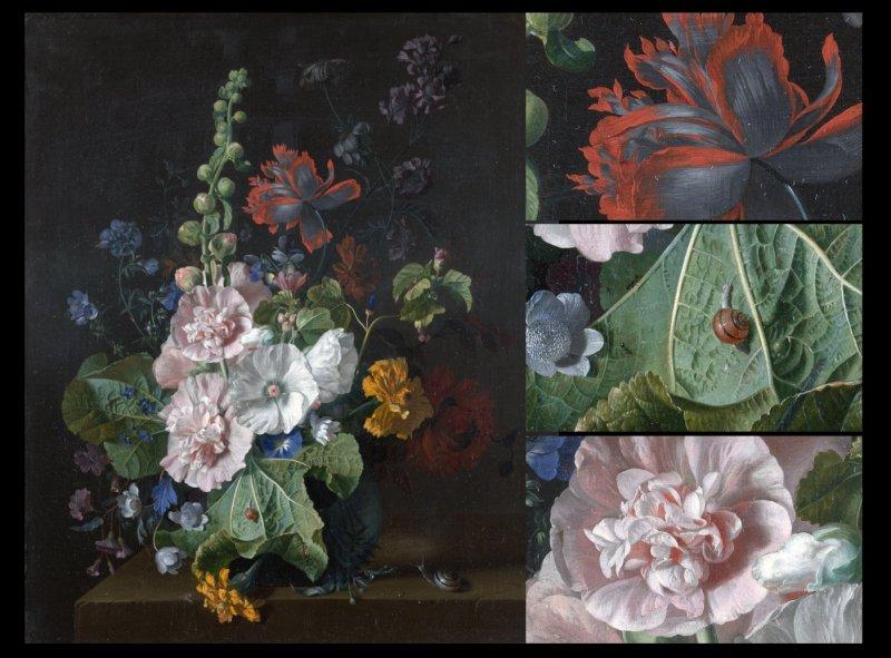 【tif】超高清临摹花卉油画