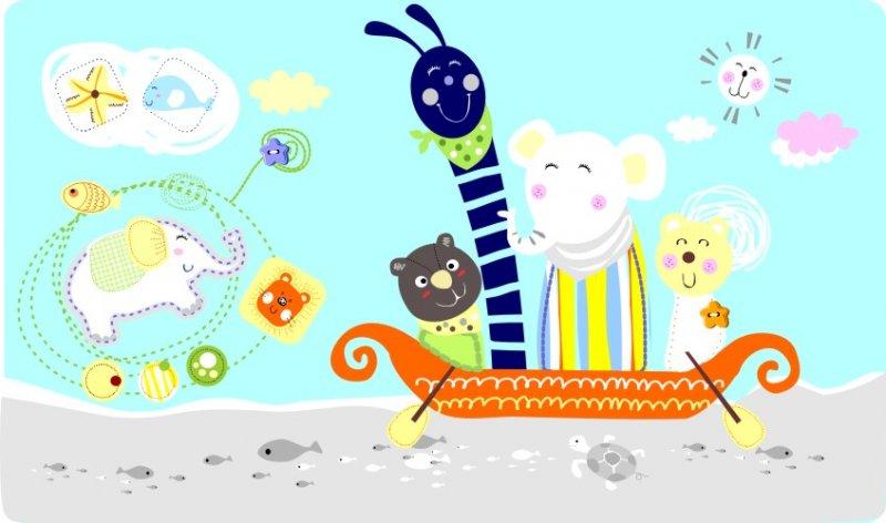 【cdr】卡通动物形象图案