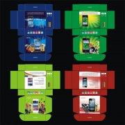 大音量手机包装彩盒设计