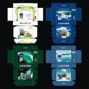 大音量手机彩盒时尚包装设计模版