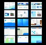 科技画册版式设计模板