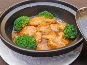 鮑汁扒魚腐