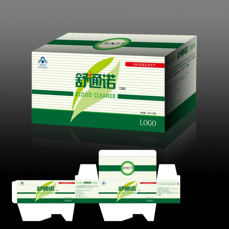 矢量专区 包装设计 保健品包装  关键词: 说明:-药品保健品包装展开图
