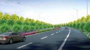 园林 绿化 道路 景观 效果图15