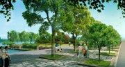 园林绿化道路景观效果图16