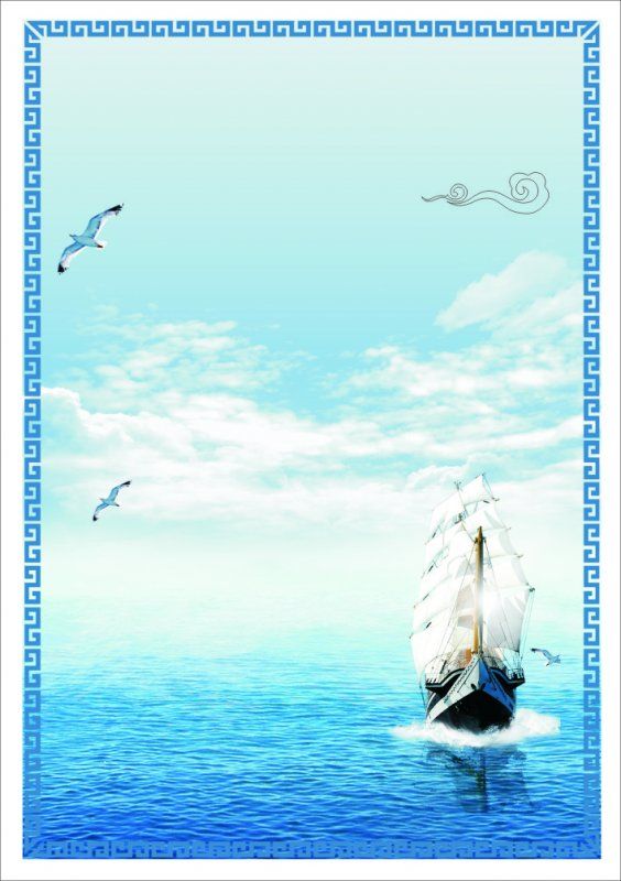 cdr海洋生态保护海报
