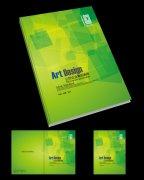 绿色创意科技画册封面设计
