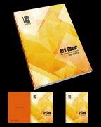金色酒店高档企业画册封面设计