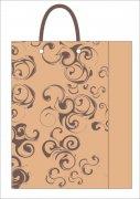 圆形花纹礼品袋