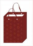 红花朵手袋