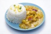 咖喱鸡肉饭快餐