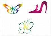 蝴蝶高跟鞋-标志