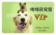 寵物店VIP會員卡