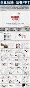 完整框架創業計劃書項目融資合作PPT模板