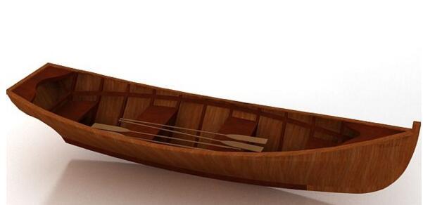 【cdr】简单的小木船