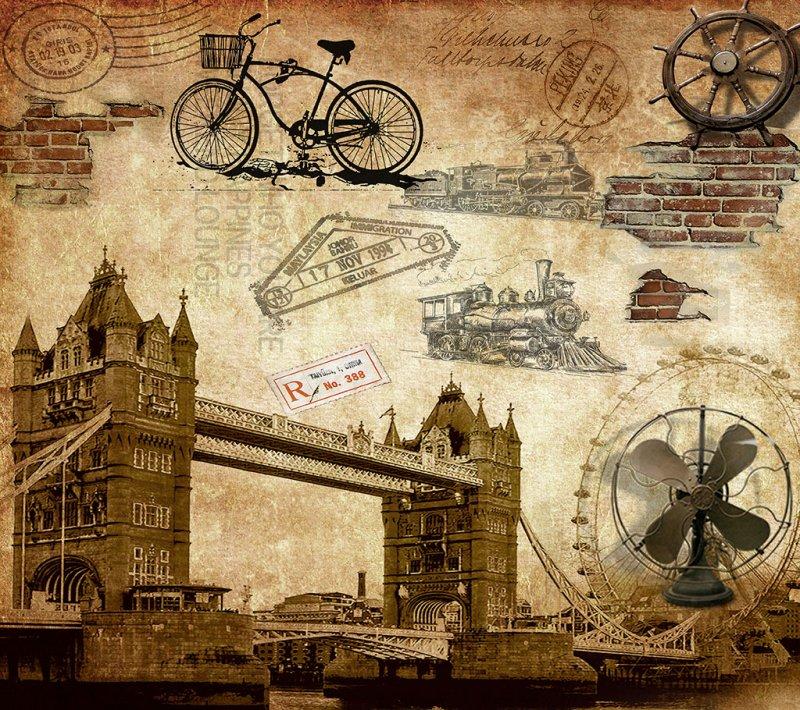 扣扣名片背景墙图片巴黎铁塔
